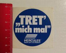 Aufkleber/Sticker: Hercules Stark auf zwei Rädern - Tret mich mal (250317147)