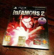 Infamous 2 Digipack Special Edition Ps3 Ottima Edizione Italiana