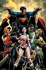 JUSTICE LEAGUE - POWER POSTER - 22x34 BATMAN SUPERMAN WONDER WOMAN 15134