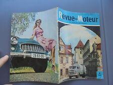 Revue Motor Tchecoslovaque Ancien Camion Ancienne Voiture Praga Skoda 1960