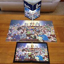 Blachon Fight Paradox Jigsaw Puzzle Rare Vintage Heye puzzle1979