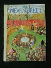 Vintage New Yorker Magazine  April 23 1949  Ilonka Karasz cover art