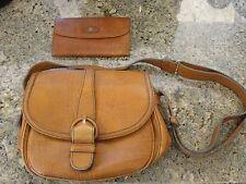 CARRCCIOLA PFEIL w germany gold VINTAGE handbag clutch bag hobo vn Leather purse