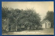 Smith's Cabins Brewer Maine me real photo postcard RPPC