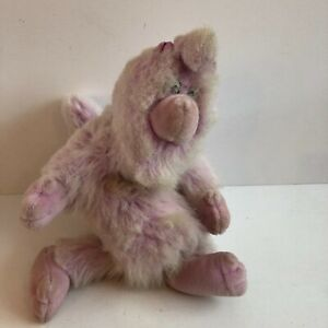 """Vintage Teddy Ruxpin Plush WOOLY WHAT'S IT Hand Puppet 18"""" 1986 Worlds of Wonder"""