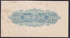 Sweden  revenue, fiscal, label,  3 skill,  STAMPED PAPER, 1858