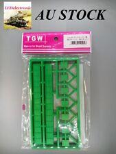 1 pack (3 sets) N scale TGW LA-95 Bridge single track,green color, model railway