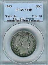 1895 Barber Half Dollar : PCGS XF40