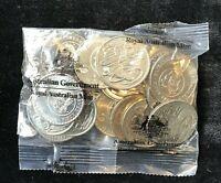 2016 CHANGEOVER 20c Twenty Cent  Unc Coins RAM Mint Bag Sachet
