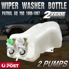 Wiper Washer Bottle for Nissan Patrol GQ Y60 TD42 TB42S Ford Maverick DA 2 Pumps