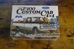 Moebius 1966 66 Ford F100 Custom Cab 4x4 Pickup Truck Model Kit SEALED