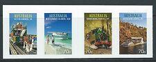 Australie 2015 Touristique Transport Adhésif Bande de 4 non Montés Excellent
