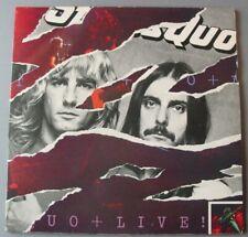 STATUS QUO  (2LP 33T)  STATUS QUO LIVE  (1977)