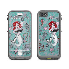 Skin for LifeProof Nuud iPhone 5S - Molly Mermaid by Fluff - Sticker Decal