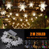 20LED Fairy String Star Light Lamp Wedding Xmas Party Outdoor Indoor Room Decor