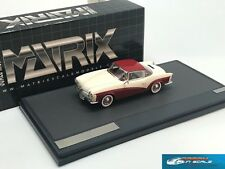 Volkswagen Rometsch Lawrence Coupe white/red 1959 Matrix MX42105-011 1:43