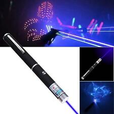Professional Purple Blue Laser Lazer Pointer Pen Light Beam 405nm High Power  MO