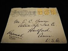 Vintage Cover, VIENNA, AUSTRIA, 1926, American Express From Rome To Hartford, CT