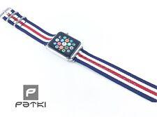 Armband im bekannten Designer Style für Apple Watch ( 42mm ) Serie 1 / 2 / 3