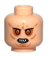 LEGO - Minifig, Head with Bared Teeth, Red Eyes & Wrinkles (Bib Fortuna)