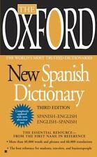 The Oxford New Spanish Dictionary: Spanish-English/English-Spanish; Espanol-Ingl
