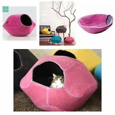 Lifeapp Catcave Katzenhöhle Schlafplatz Katzennest aus Filz pink pflegeleicht