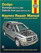 Haynes Dodge Durango (05-11) Limited se propriétaires service Workshop Manual Manuel