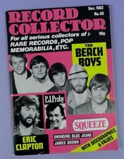 Record Collector December 1982,  James Brown, Beach Boys, Clapton, PJ Proby...