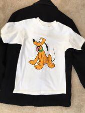 New listing Vintage Men's White Walt Disney World Pluto Dog Graphic Tee, T-Shirt, Shirt, S