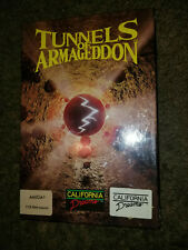 Tunnels of Armageddon by California Dreams for AMIGA . FACTORY SEALED.