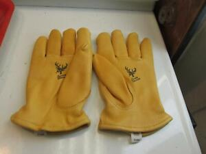 Buck Skin Insulated Glove From Midwest Glove  XL