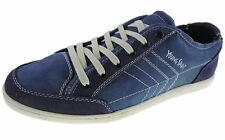 New YOUNG SPIRIT Blue men's Suede CANVAS Sneaker trainers UK size 11