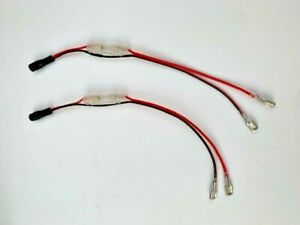 ''GENUINE'' Atom Bait Boat Battery Leads x 2 ''Fuse Protected''