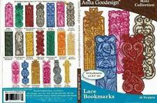 Anita Goodesign Lace Bookmarks Embroidery Machine Design CD NEW 63MAGHD