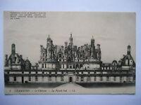 "CPA ""Chambord - Le château - La façade sud"""