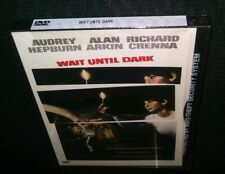Wait Until Dark DVD Audrey Hepburn Alan Arkin Richard Crenna Jack Weston NEW