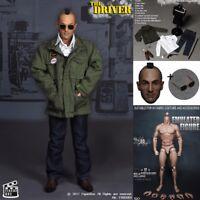 "FIGURE BOX 1/6 Scale The Driver Head Sculpt+Clothes Set+Figure Body 12"" Hot Toys"