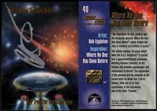 1993 Bob Eggleton SIGNED Star Trek Master Series Art Card Next Generation TNG