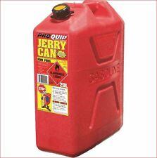 Jerry Can 20 L Lt Litre Red Plastic Petrol Diesel Fuel Container Pourer Approve
