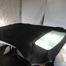 AUDI A3 MANUAL CONVERTIBLE BLACK MOHAIR HOOD WITH GLASS REAR WINDOW NEW