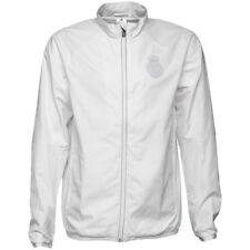 Adidas Real Madrid Street Jacket Woven - White/Reflective MENS L NWT NEW