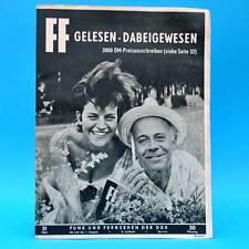 DDR FF-Dabei 31-1964 / 26.07.-01.08. Hans Knötzsch Ruzickova Friedrichstadt-Pal.