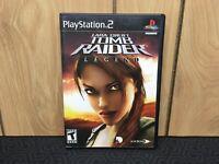Lara Croft: Tomb Raider Legend (Playstation 2) PS2 - Black Label - Complete/CIB