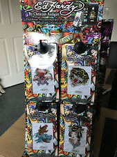 Ed Hardy Crystal Tattoo Decal display stand, with 40 decals