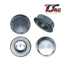 Aluminum Wheel Nut Cap Silver for 1/5 RC HPI BAJA 5B 5T 5SC Rovan King Motor
