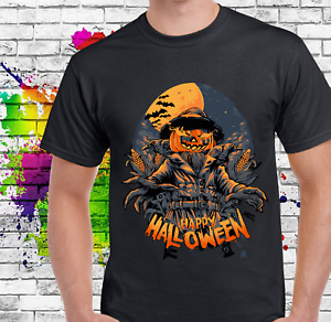 The Scarecrow Halloween Scary Printed T Shirt