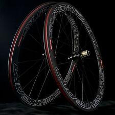 SUPERTEAM Road Bike 50mm Clincher Carbon Wheel 3k Matte Bicycle Carbon Wheelset