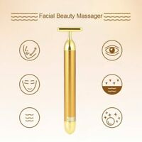 Face Lift Tool T Shape Facial Massager Energy Vibrating Bar Tighten Skin Care