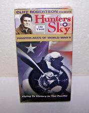 Hunters in the Sky VHS Tape Vol 4 Fighter Aces of World War ll Movie VCR USA NEW