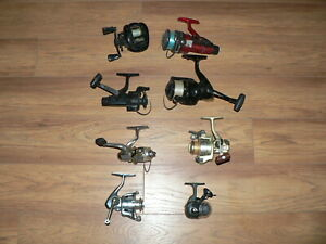 Fishing Reel Lot For Use Parts Or Repair Lot Of 8